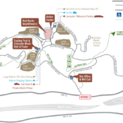 red rocks map for box office parking