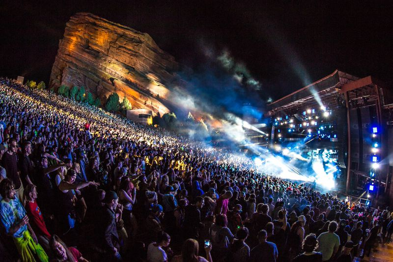 Welcome To Red Rocks Amphitheatre 2019 Concerts And Events