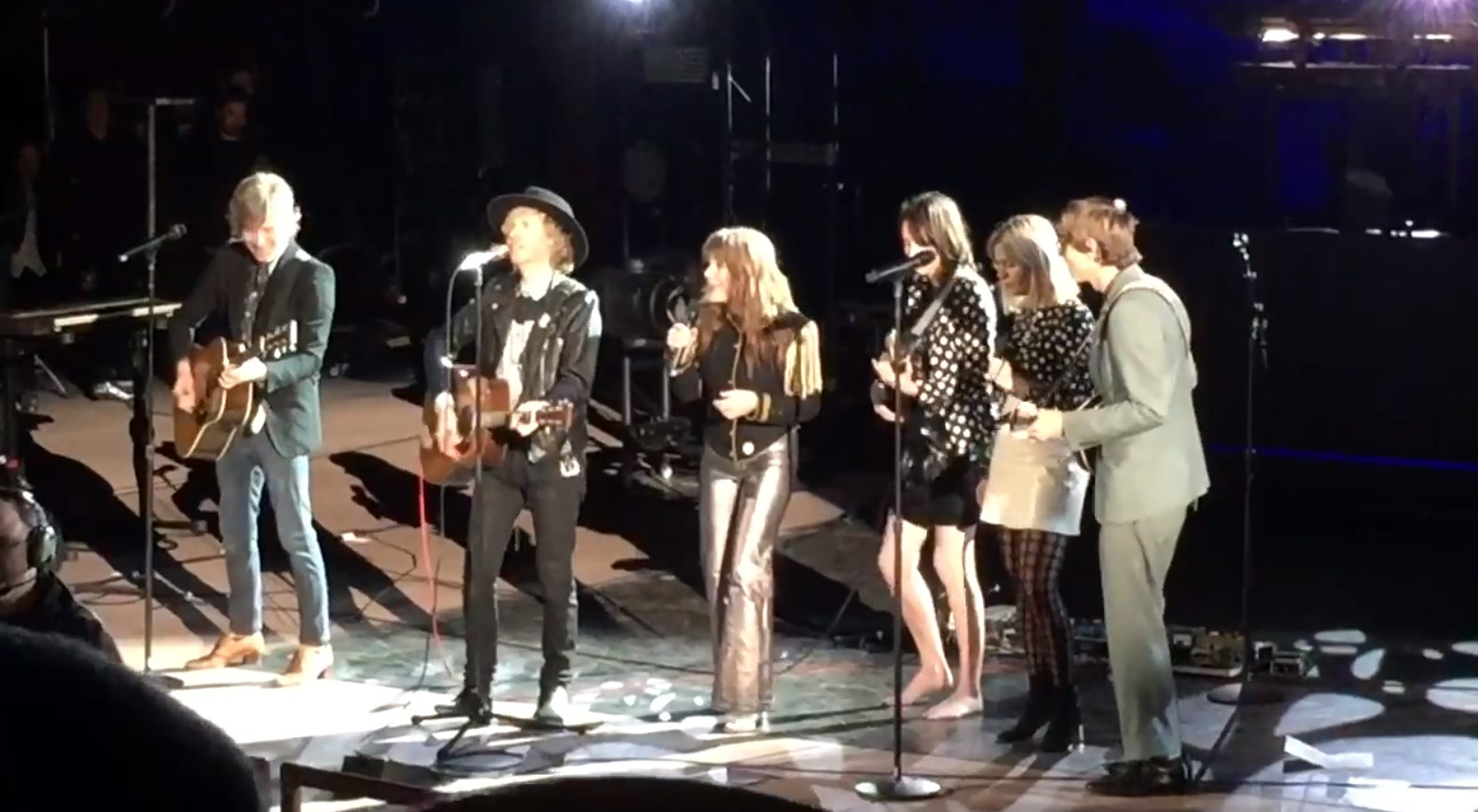 Beck Welcomes Jenny Lewis For Neil Young Cover At Red Rocks