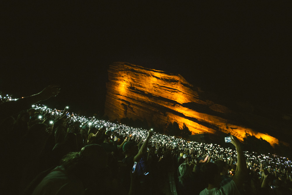 Here's How Red Rocks Changed (and Didn't Change) This Year