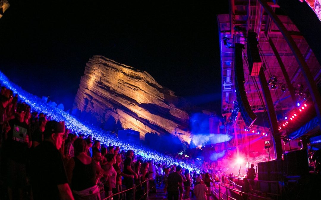 Red Rocks Season Begins This Weekend! Here's Every Concert in April